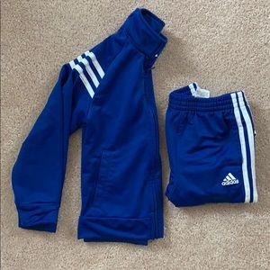adidas Matching Sets - KIDS adidas royal blue track suit